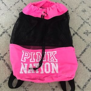 Victoria's secret PINK mesh backpack